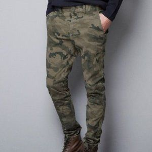 Zara Man Biker Camo Pants
